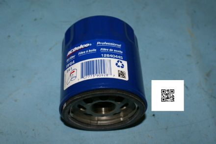2014+ Corvette C7 Oil Filter, AC Delco PF64, New
